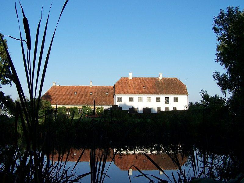 Museo di Karen Blixen - Veduta dal laghetto della casa natale di Karen Blixen