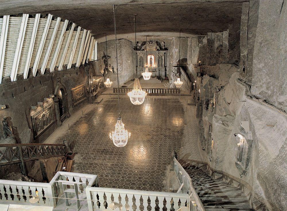 Wieliczka- Cattedrale nella miniera