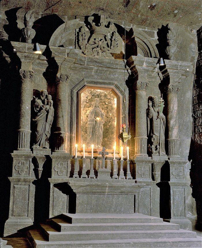 Altare della Cattedrale di Sale - Wieliczka