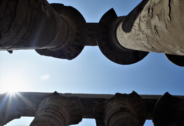 Capitelli - tempio Antica Tebe -Foto di Simonetta Bonamoneta