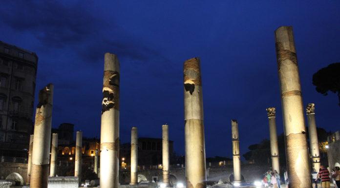 il-foro-romano-di-notte-rivive-la-roma-dei-cesari