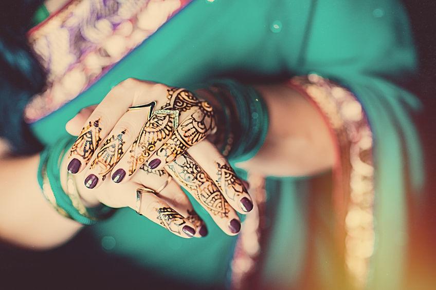 Hennè alle mani - usanza delle spose berbere