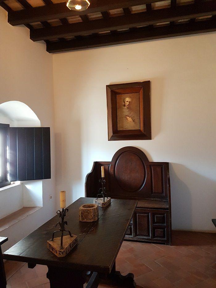 Monastero della Rabida: stanza di Crostoforo Colombo