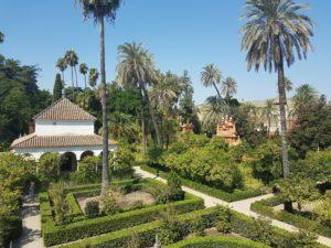 Giardini dell'Alcazar di Siviglia