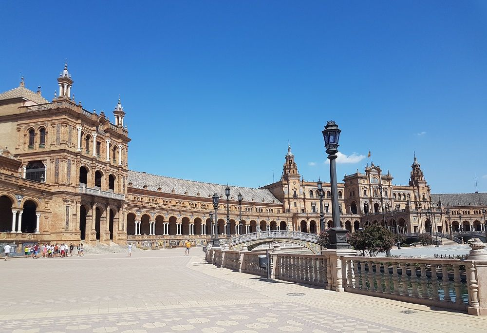 Siviglia: Plaza de Espana