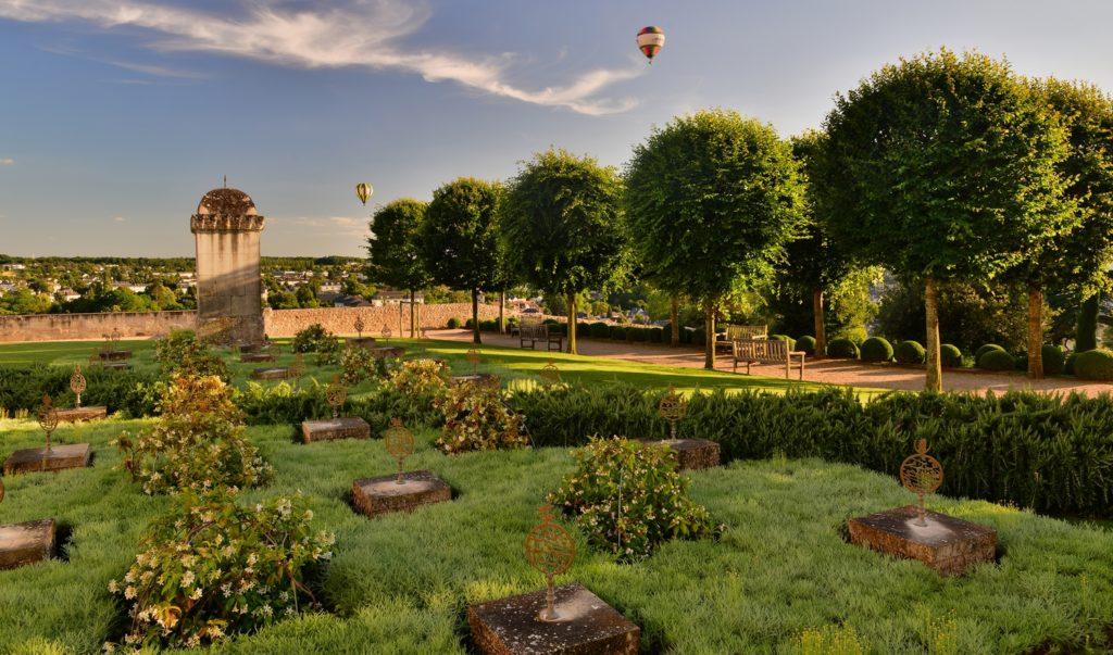 Jardin d'Orient . Château d'Amboise