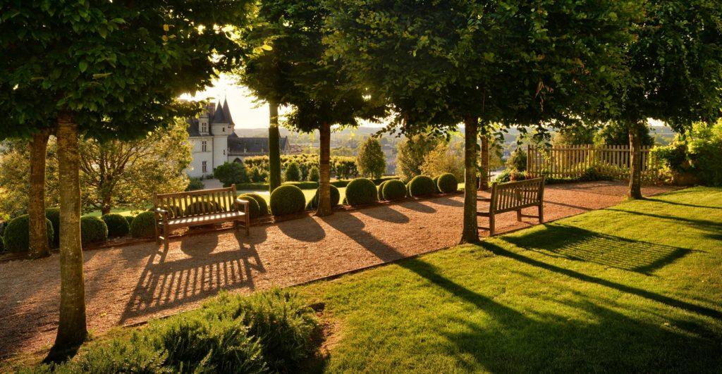 jardin . Château d'Amboise