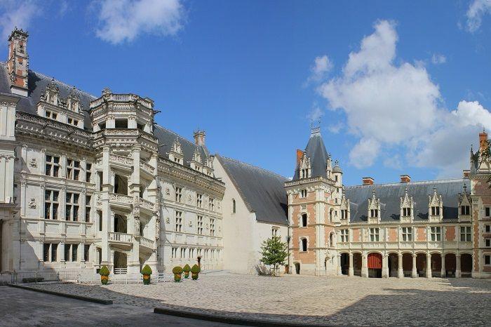 Château-Royal-de-Blois-Ala-Francesco I e Luigi XII