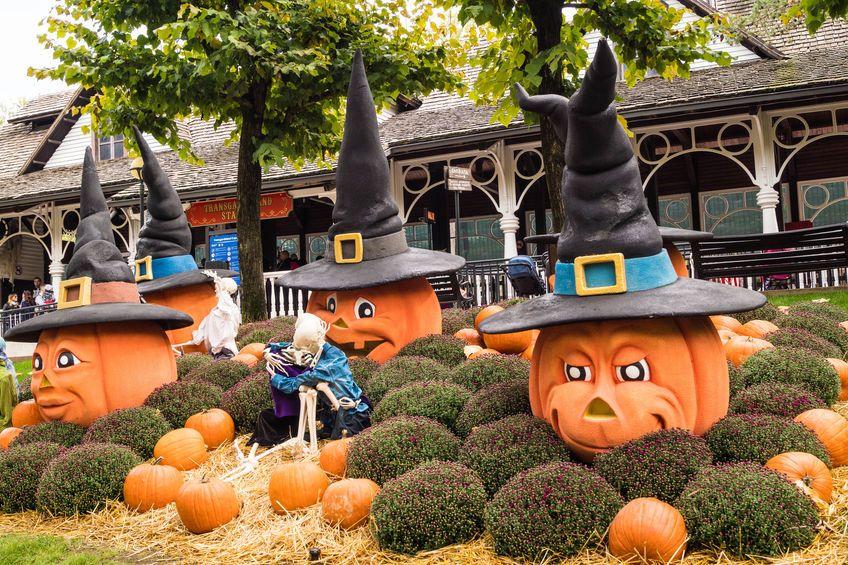 Halloween nei parchi