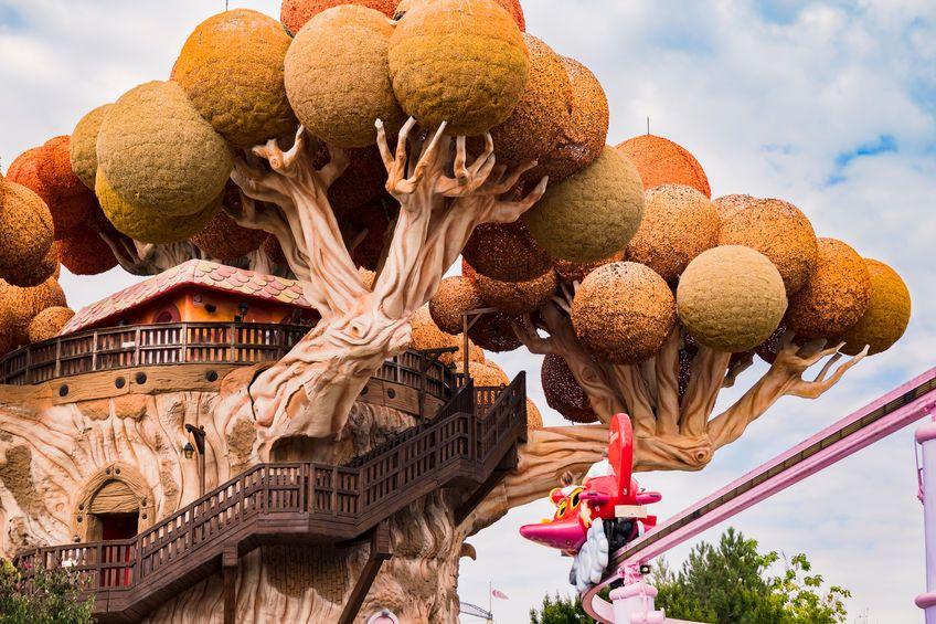Halloween nei Parchi: L'albero di Prezzemolo a Gardaland