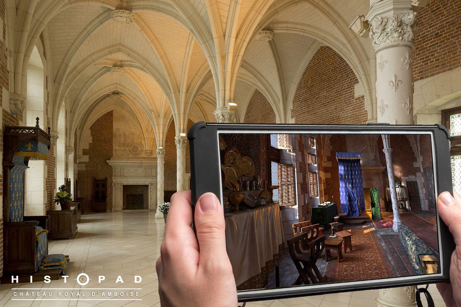 castelli della Loira per 500 anni di Leonardo da Vinci con realtà aumentata