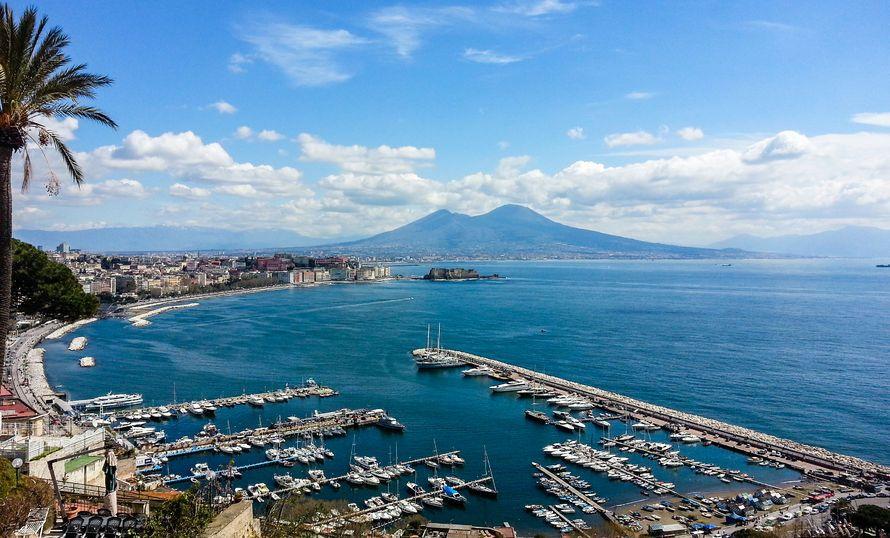 Panorama di Napoli dalla collina di Posillipo