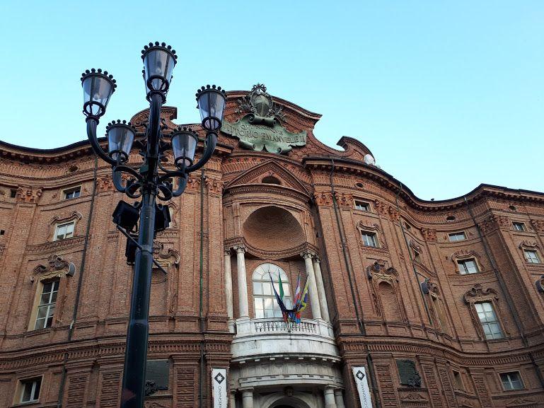 """Palazzo Carignano a Torino - set dei film """"Profondo Rosso"""" e """"Non ho sonno"""""""
