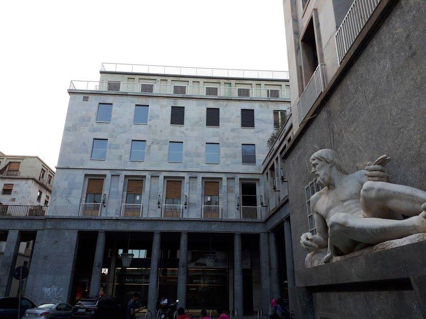 """Piazza CLN a Torino - set del film """"Profondo Rosso"""""""