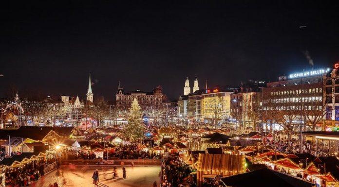 Promo Mercatini di Natale a Zurigo, a tre ore di treno da Milano