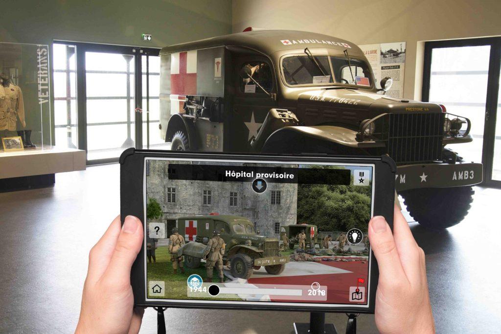 Histopad Museo Airborne Dday_ambulanza