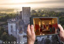 Castello-di-Loches Realtà aumentata Histopad