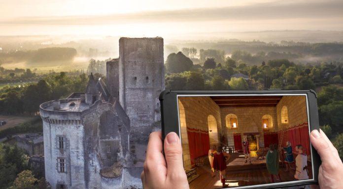 Un viaggio nei sotterranei del castello di Loches con la realtà aumentata