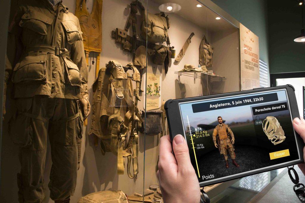 Histopad Museo Airborne Dday-equipaggiamento