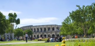 """Nimes """"romana"""" e il musée de la Romanité"""