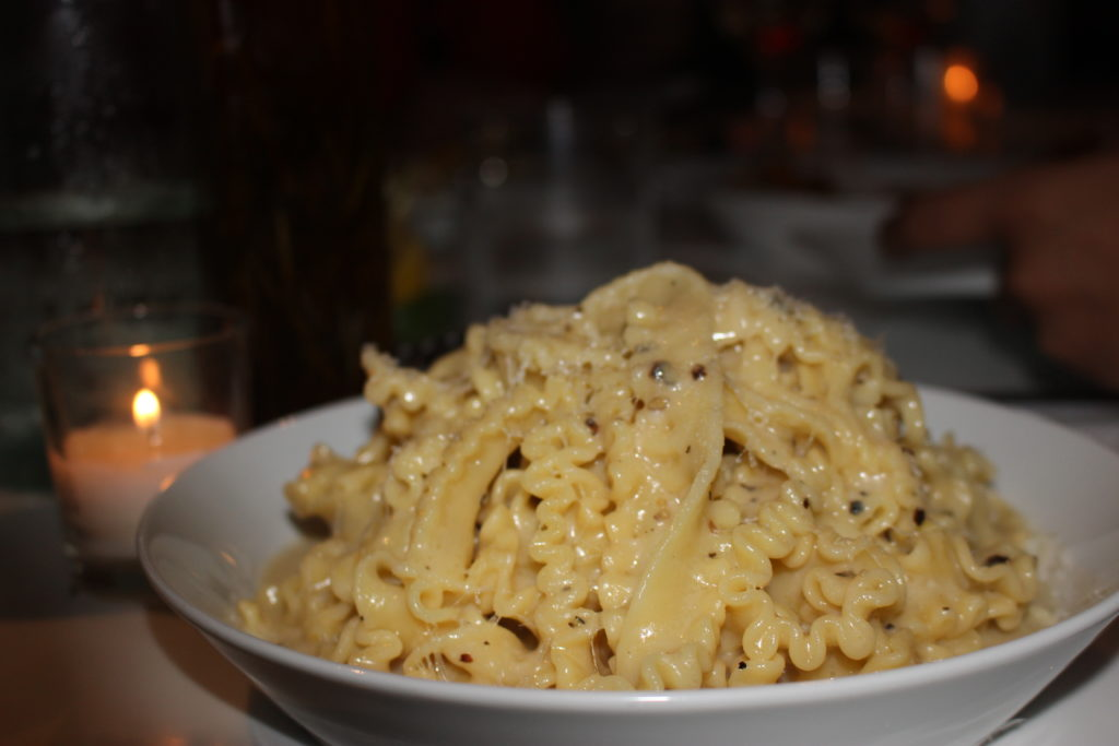 Cacio e pepe - The Alley, Miami South Beach