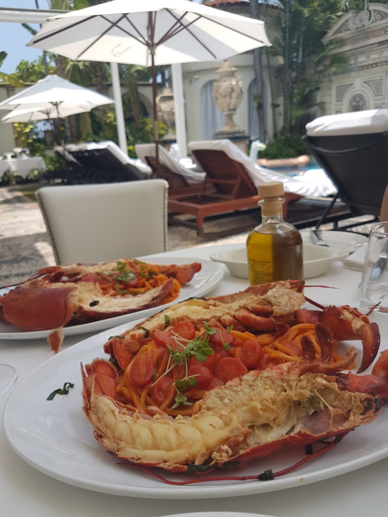 Spaghetti all'aragosta al Gianni's, Villa Casuarina, Miami- Foto di Mariagela Scotto