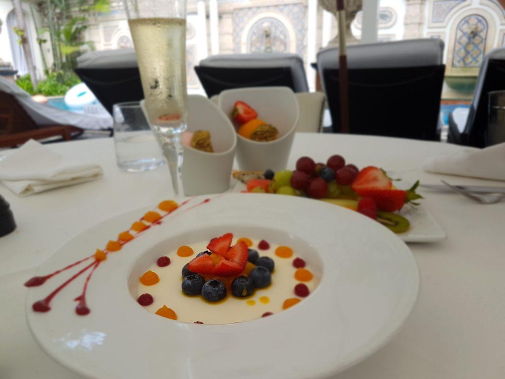 gelato alla frutta al Gianni's Villa Casuarina Miami - Foto di Mariangela Scotto