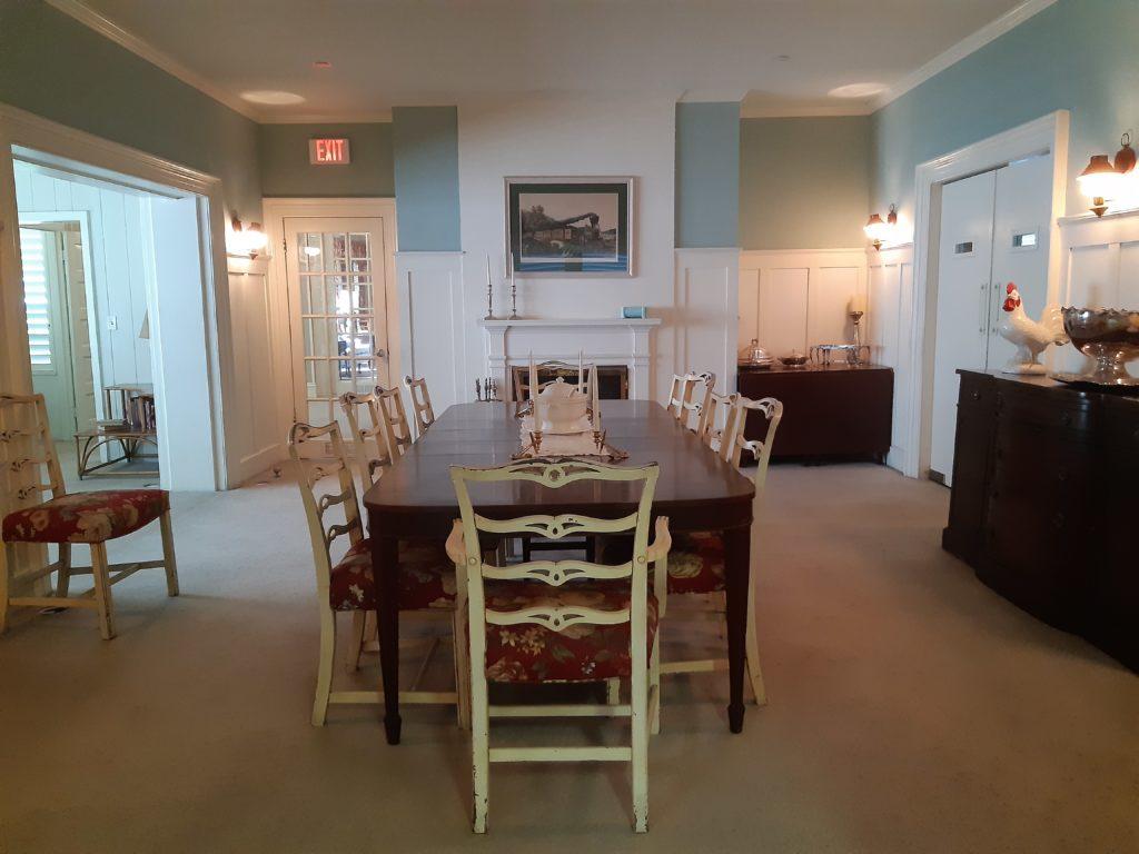 Truman Little White House_tavolo della sala da pranzo