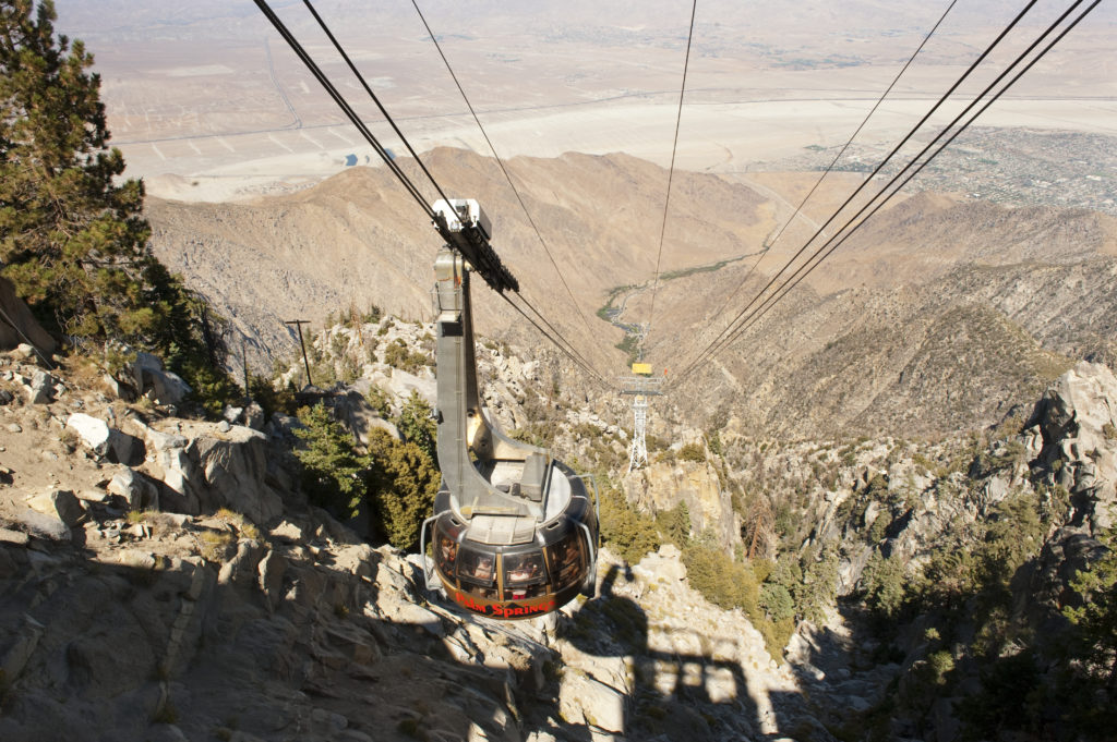 Palm Springs, Aerial Tramway