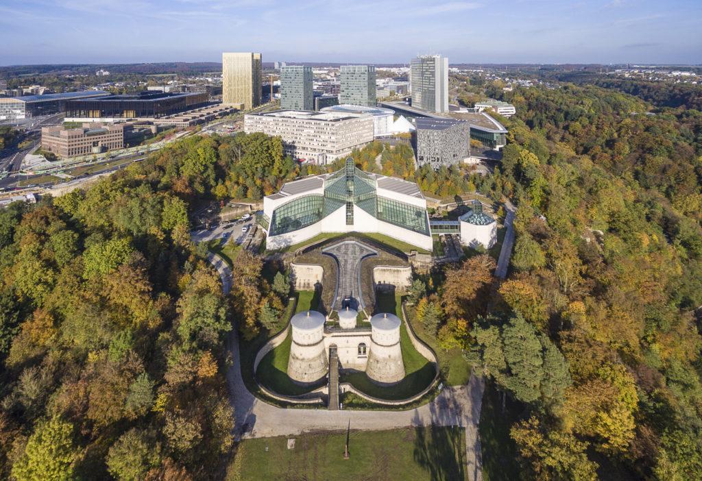 Lussemburgo città - parte moderna