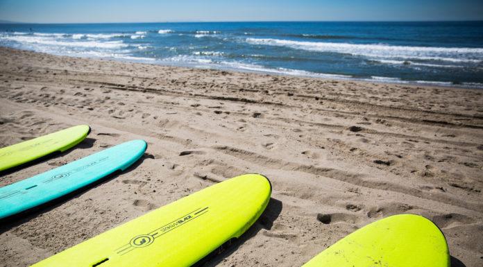 Lezioni di surf a Santa Monica