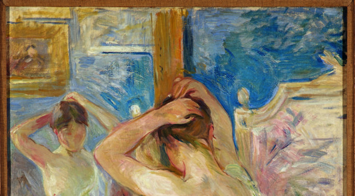 Devant la Psiche' - Morisot