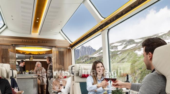 Glacier Express - Carrozza Excellence, Svizzera