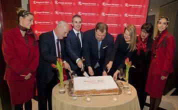 Kenya Airways - Celebrazione tratta Roma Nairobi