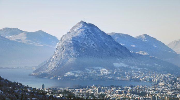 Lugano in inverno-© Enrico Boggia