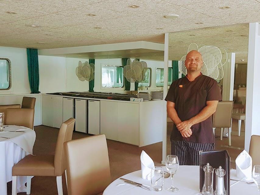 Chef Ricardo Camacho di CroisiEurope - Crociera sul Douro da Porto a Salamanca