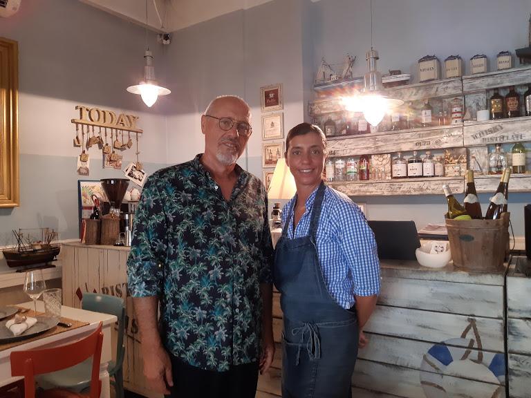 Fano_ristorante Cile's_Giorgiandrea Ricci e la figlia Alessandra
