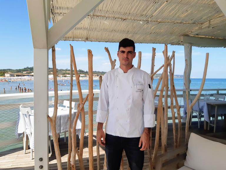 Levante ristorante a Fano_ Chef Mirko Cervellara