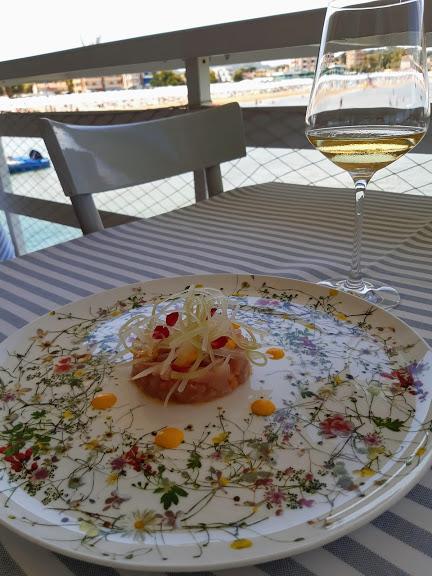 Levante ristorante a Fano_ antipasto di ricciola