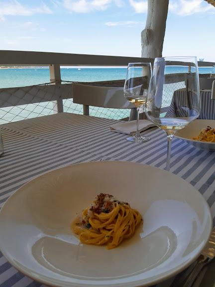 Levante ristorante a Fano_ fettuccine con granchio
