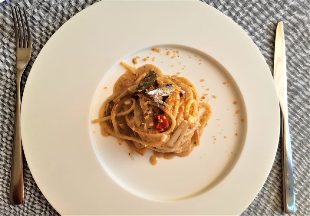 """Ristorante Almare di Fano_Spaghettoni alla brace """"scotadìt"""""""