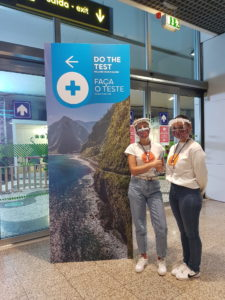 Madeira Clean and Safe_ tampone all'aeroporto
