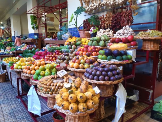 Madeira_Mercado dos lavradores_ frutta di Madeira