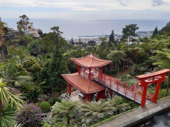 Madeira_Monte Palace Tropical Garden_view