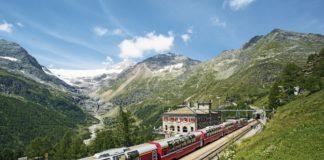 Ferrovia Retica Bernina express