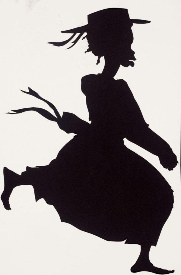 Kara Walker al Kunst Museum di Basilea silhouette