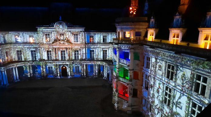 Castello di Blois spettacolo suoni e luci
