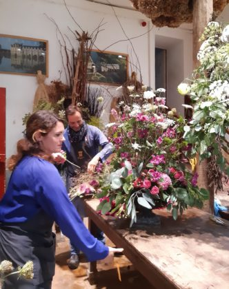 Castello di Chenonceau_ atelier e workshop dei bouquet