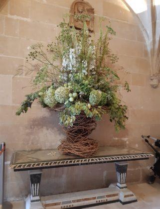 Castello di Chenonceau_ bouquet all'entrata