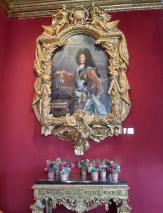 Castello di Chenonceau_ ritratto Luigi XIV